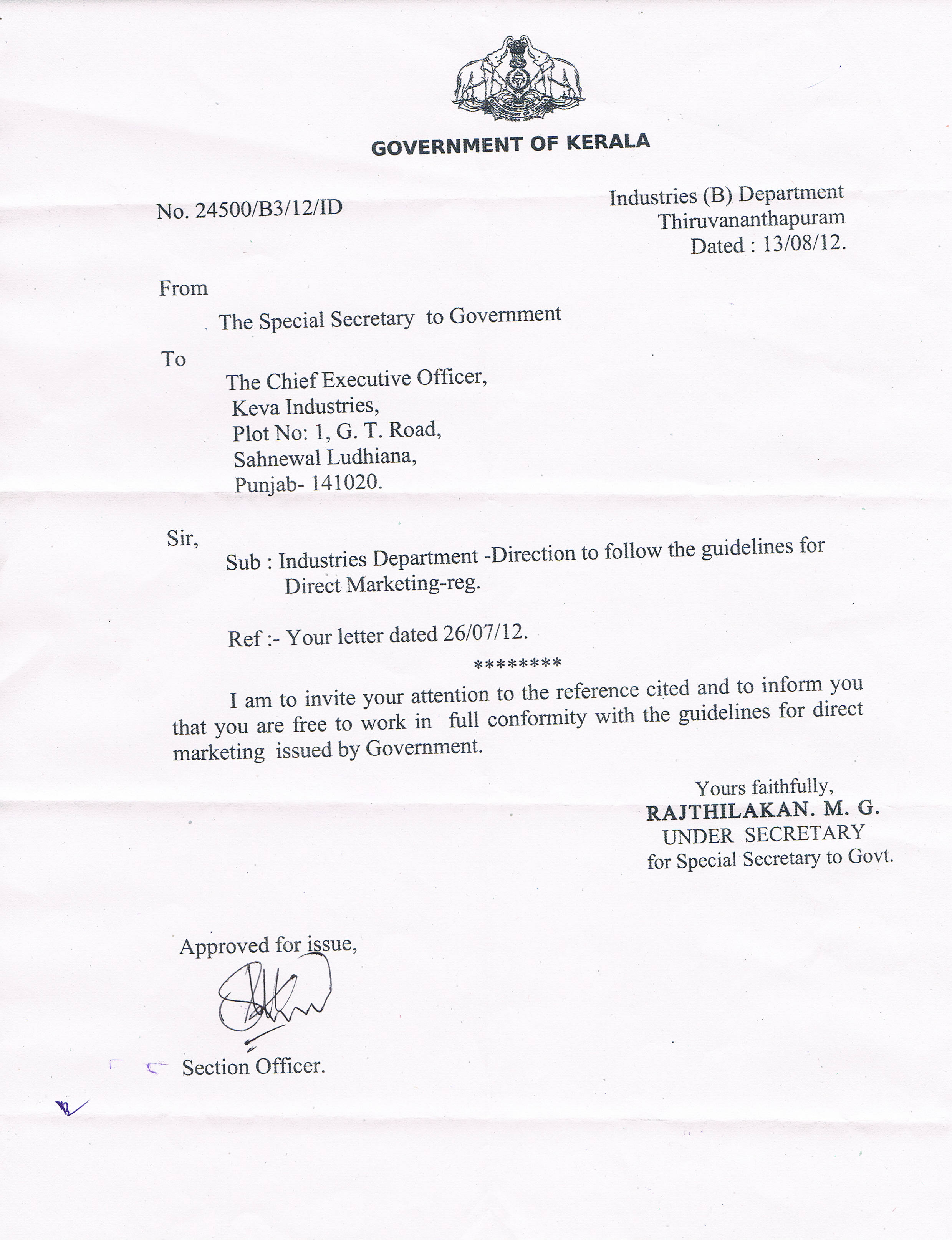 Doc768994 Noc Letter Sample No Objection Letter Certificate – Format of Non Objection Certificate
